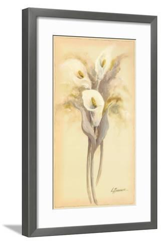 Lilies Bouquet I-Luis Romero-Framed Art Print