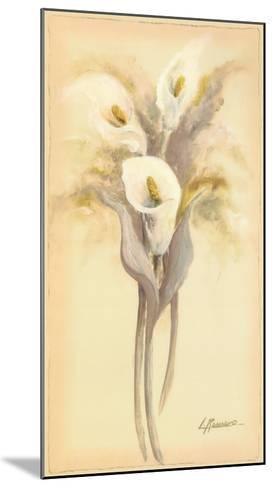 Lilies Bouquet I-Luis Romero-Mounted Art Print