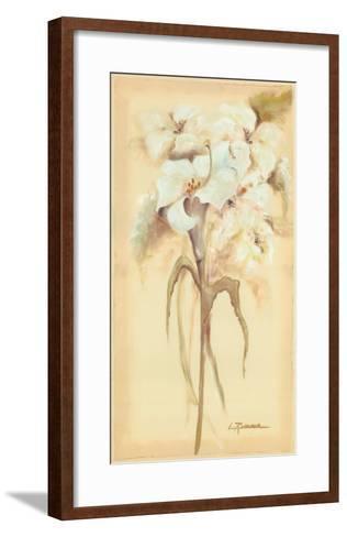 Lilies Bouquet II-Luis Romero-Framed Art Print