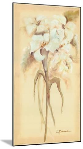 Lilies Bouquet II-Luis Romero-Mounted Art Print