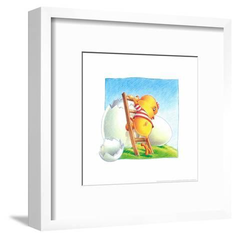 Little Chicken-Urpina-Framed Art Print