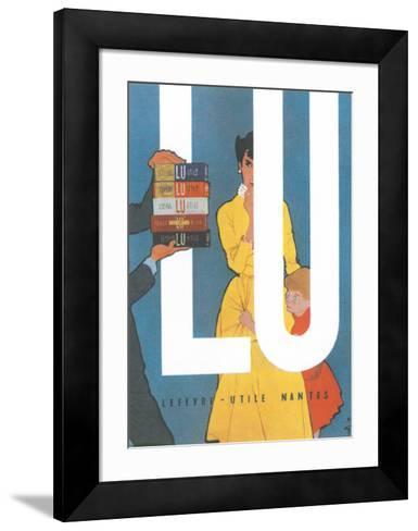 LU--Framed Art Print
