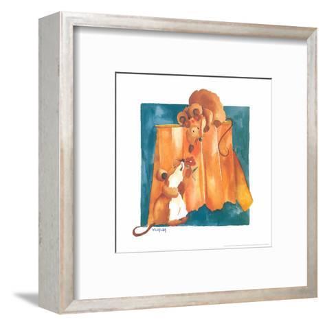 Mice In Love-Urpina-Framed Art Print