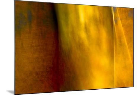 Orange Abstract-Jean-Fran?ois Dupuis-Mounted Art Print