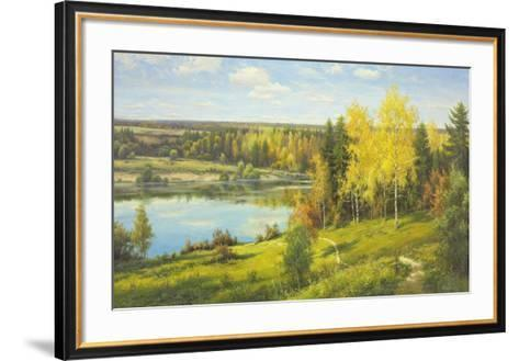 Overlooking The Sea-Igor Priscepa-Framed Art Print