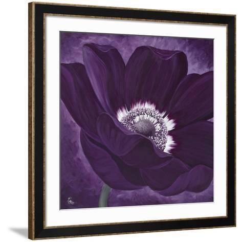 Purple Passion I-Kaye Lake-Framed Art Print