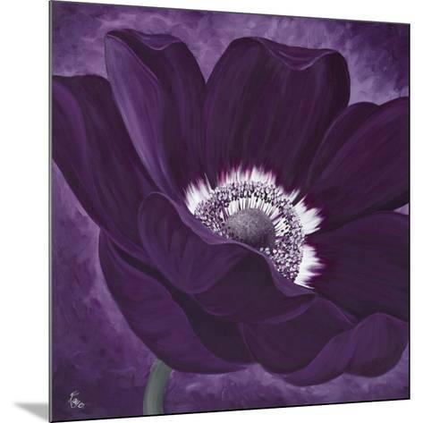 Purple Passion I-Kaye Lake-Mounted Art Print