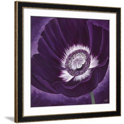 Purple Passion II-Kaye Lake-Framed Art Print
