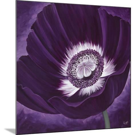 Purple Passion II-Kaye Lake-Mounted Art Print