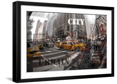 Red City I-Jean-Fran?ois Dupuis-Framed Art Print