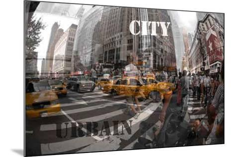 Red City I-Jean-Fran?ois Dupuis-Mounted Art Print