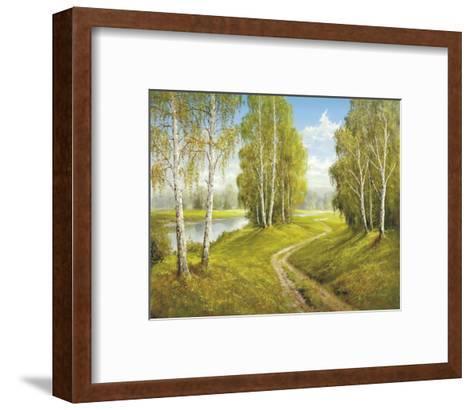 Romantic Pathway-Helmut Glassl-Framed Art Print