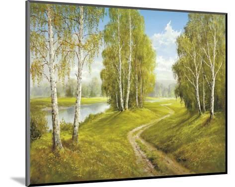 Romantic Pathway-Helmut Glassl-Mounted Art Print