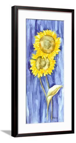 Sunflower Triptych I-Evol Lo-Framed Art Print