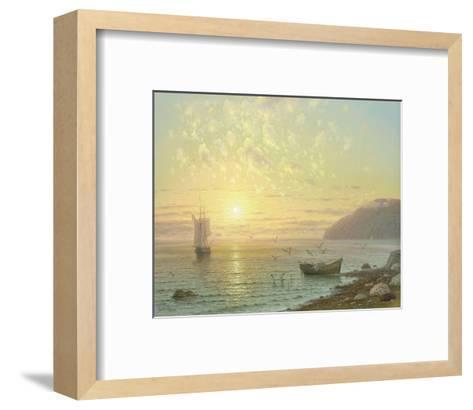 Sunset At Jalta-A^ Gorjacev-Framed Art Print