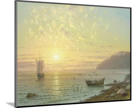 Sunset At Jalta-A^ Gorjacev-Mounted Art Print