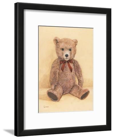 Teddybear--Framed Art Print
