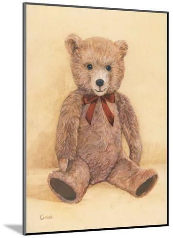 Teddybear--Mounted Art Print