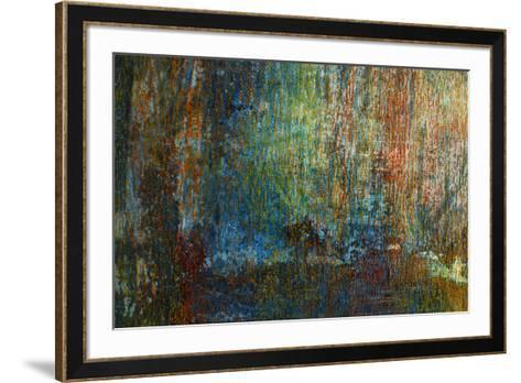 Textural Abstract II-Jean-Fran?ois Dupuis-Framed Art Print