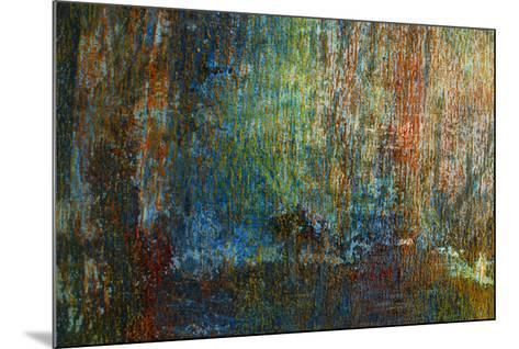Textural Abstract II-Jean-Fran?ois Dupuis-Mounted Art Print