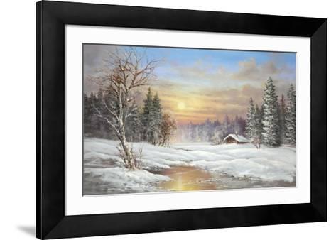 Tundra Night-Helmut Glassl-Framed Art Print