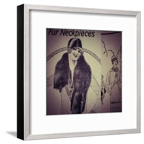 Vintage Womenwear 1925 III-Jean-Fran?ois Dupuis-Framed Art Print