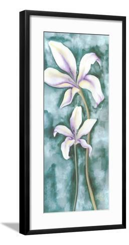 Violet Triptych III-Villalba-Framed Art Print