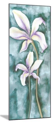Violet Triptych III-Villalba-Mounted Art Print