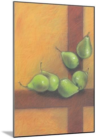 Waterfall Of Pears-Basch-Mounted Art Print