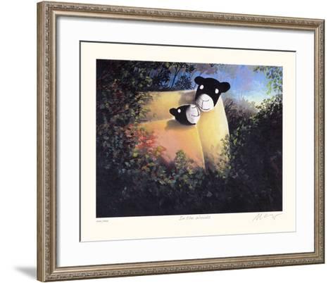 In the Woods-Mackenzie Thorpe-Framed Art Print