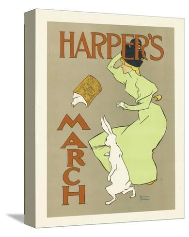 Harper's Magazine, March 1894-Edward Penfield-Stretched Canvas Print