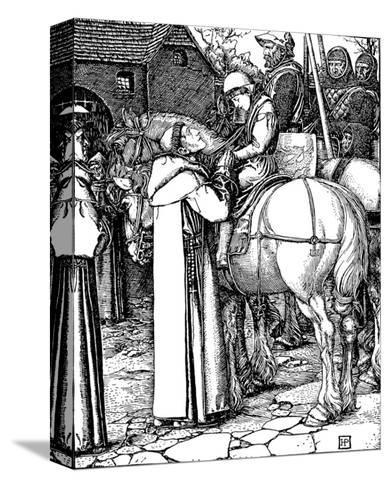 Otto of The Silver Hand-Howard Pyle-Stretched Canvas Print