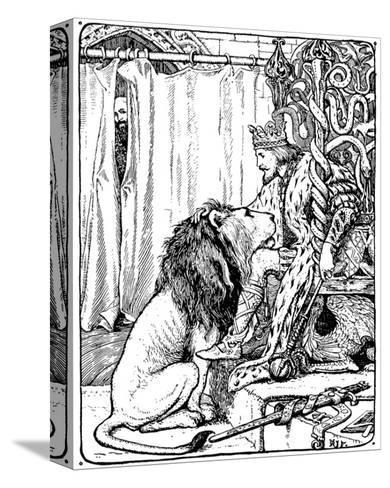 The Twelve Huntsman-H.J. Ford-Stretched Canvas Print