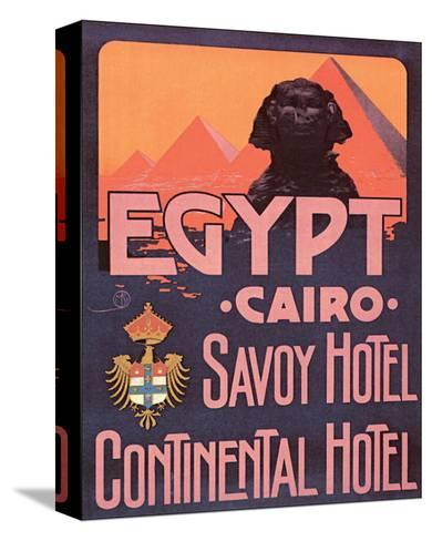 Egypt, Cairo--Stretched Canvas Print