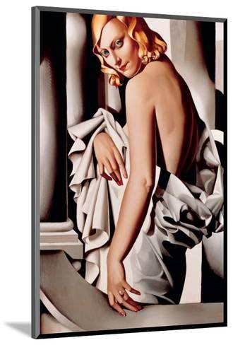 Portrait de Marjorie Ferry-Tamara de Lempicka-Mounted Premium Giclee Print