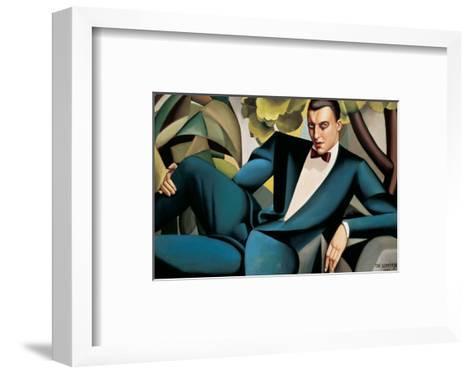 Portrait du Marquis d'Afflitto-Tamara de Lempicka-Framed Art Print