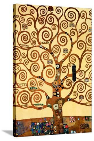 The Tree of Life, Stoclet Frieze, c.1909-Gustav Klimt-Stretched Canvas Print