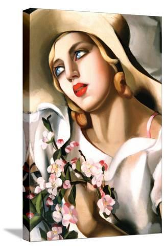 Portrait Fille-Tamara de Lempicka-Stretched Canvas Print