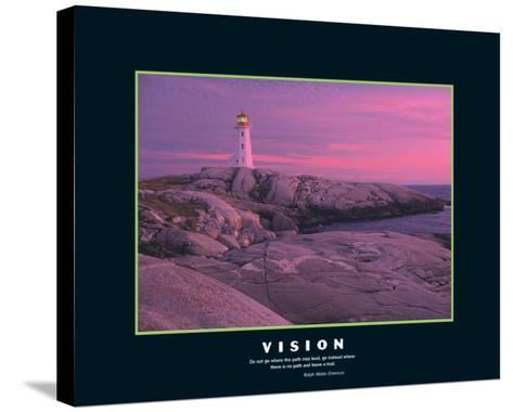 Vision--Stretched Canvas Print