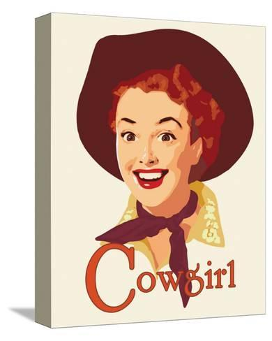 Cowgirl-Richard Weiss-Stretched Canvas Print