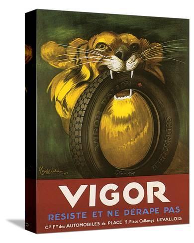 Vigor, Resiste Et Ne Derape Pas--Stretched Canvas Print
