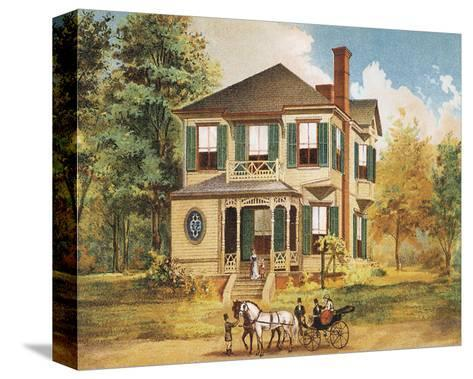 Victorian House, No. 10--Stretched Canvas Print