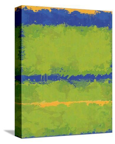 No. 1967 Olive Green Blue-Carmine Thorner-Stretched Canvas Print