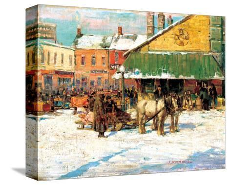Byward Market, Ottawa-Franklin Brownell-Stretched Canvas Print