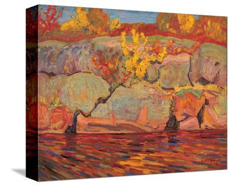 Autumn Colours--Stretched Canvas Print