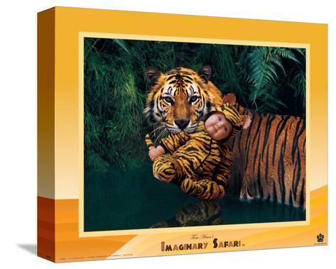 Imaginary Safari, Tiger-Tom Arma-Stretched Canvas Print