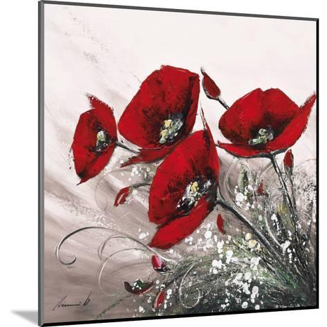 Bouquet de Coquelicots II-Olivier Tramoni-Mounted Art Print
