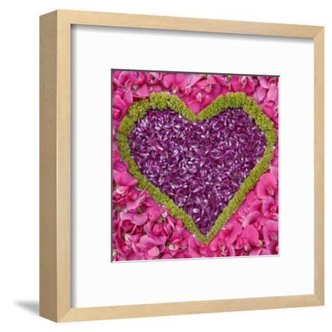 Madalenes Hearts Pink--Framed Art Print