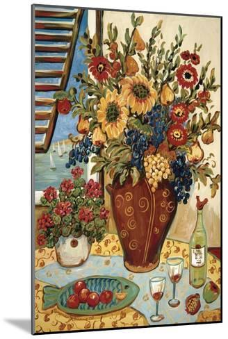 Flowers By The Window-Suzanne Etienne-Mounted Art Print