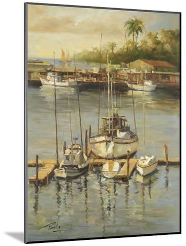 Bahama Harbor-Enrique Bolo-Mounted Art Print